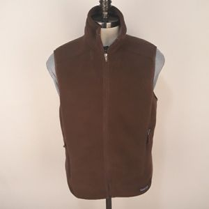 PATAGONIA Synchilla Fleece Brown Mens Medium Vest